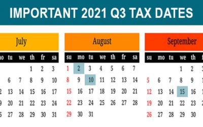 Q3 tax calendar: Key deadlines for businesses and other employers